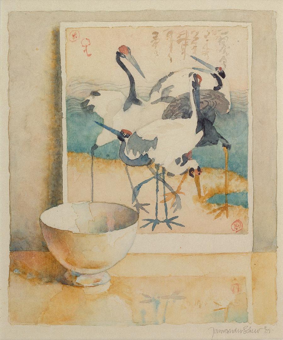 1981 Kraanvogels (29 X 25 cm) 16796w