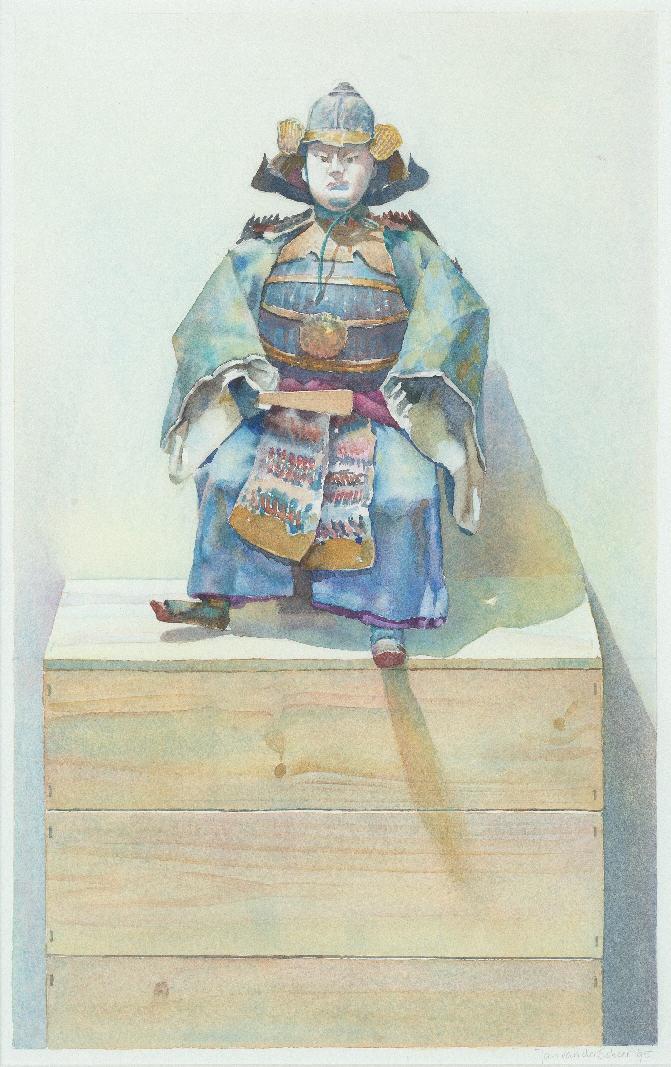 1995 Samoerai I (53 X 34 cm) 9211w