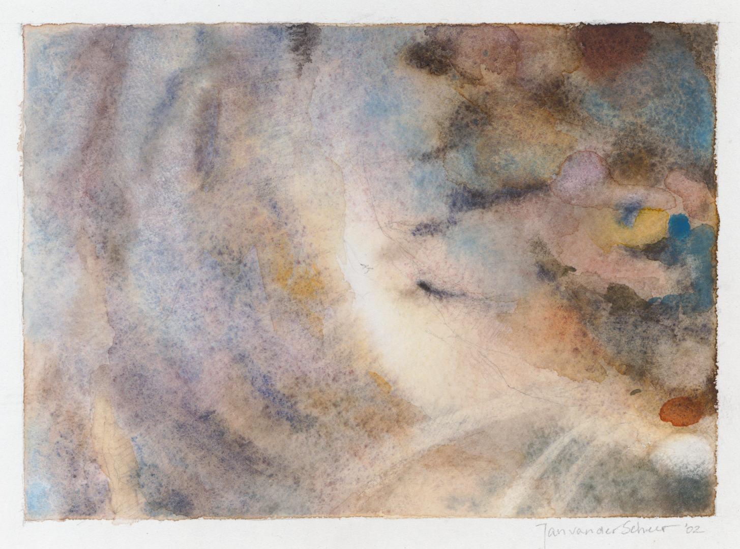 2002 Grover I (13 X 18 cm) 3456w