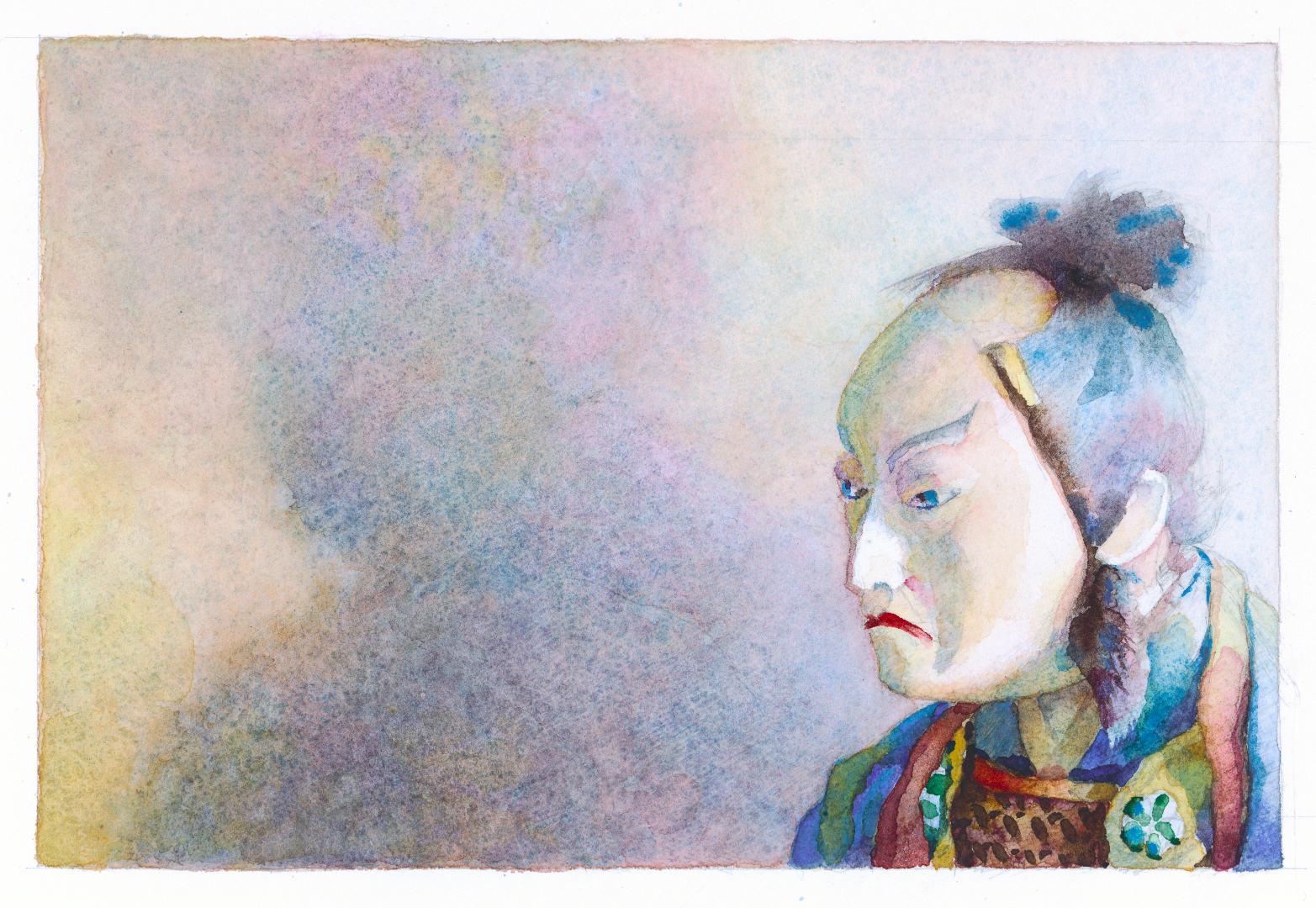 2005 Japans portret (16 X 25 cm) 8038w