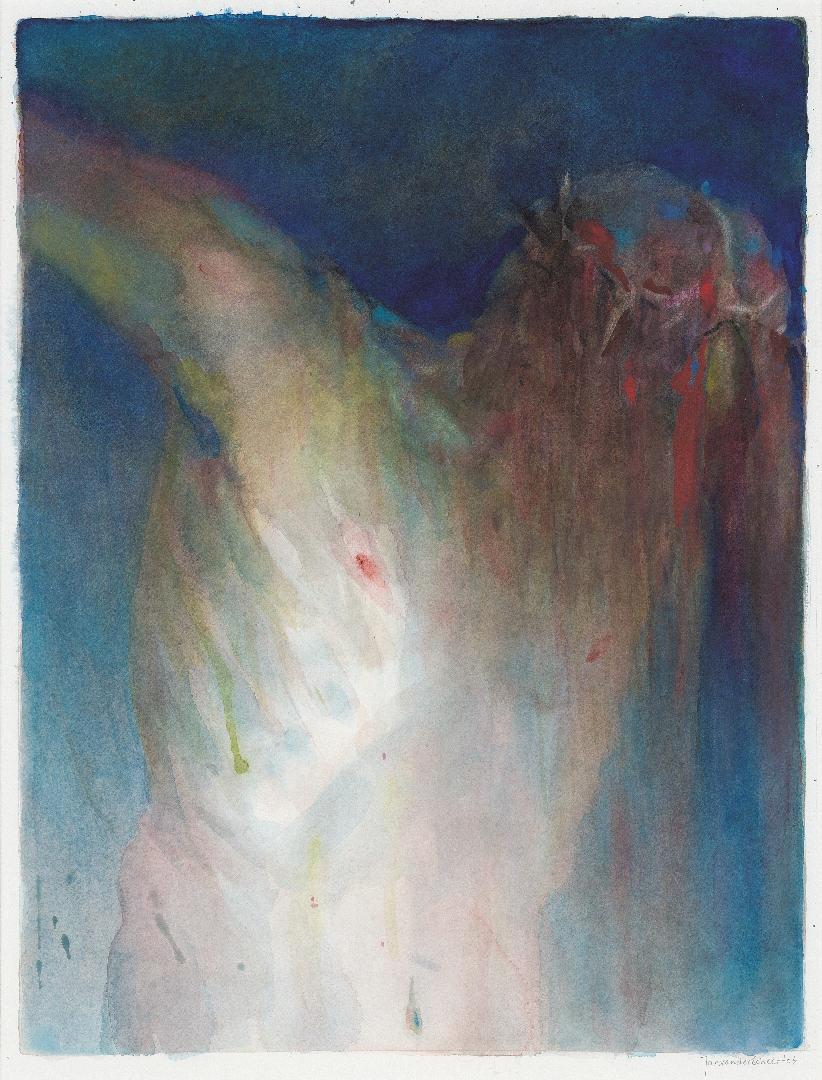 2006 Crucifix II (61 X 47 cm) 9845w