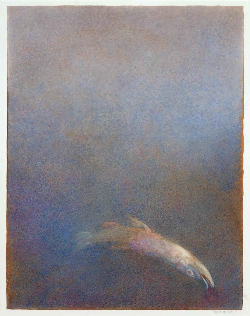 2011 Als een vis (60 X 47 cm) 15158w