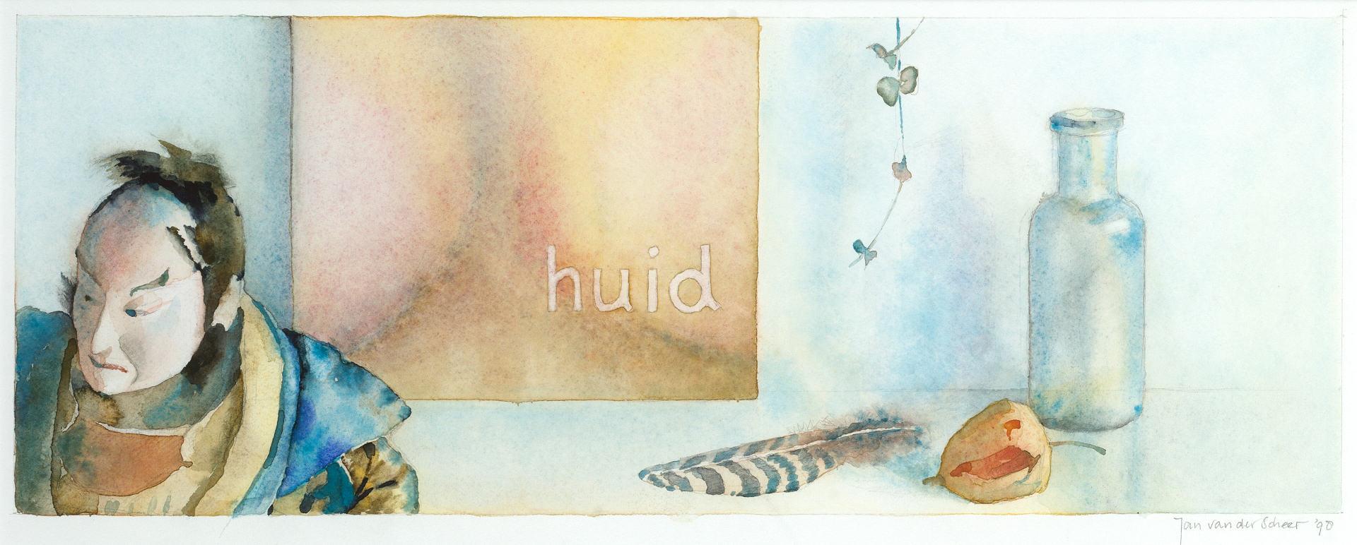1998 Huid (18 X 47 cm) 10792w