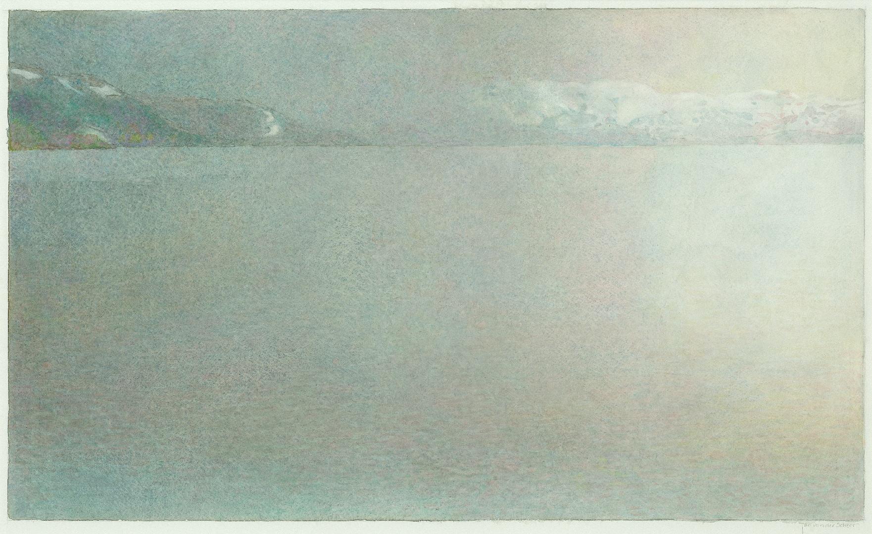 2008 Nedre sjon III (35 X 58 cm) 11623w