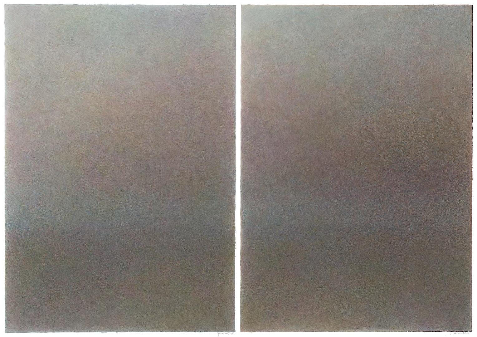 2015 Het Wad II (tweemaal 100 X 70 cm)19039